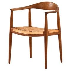 Hans Wegner Armchair Model Jh-501 / the Chair by Johannes Hansen in Denmark