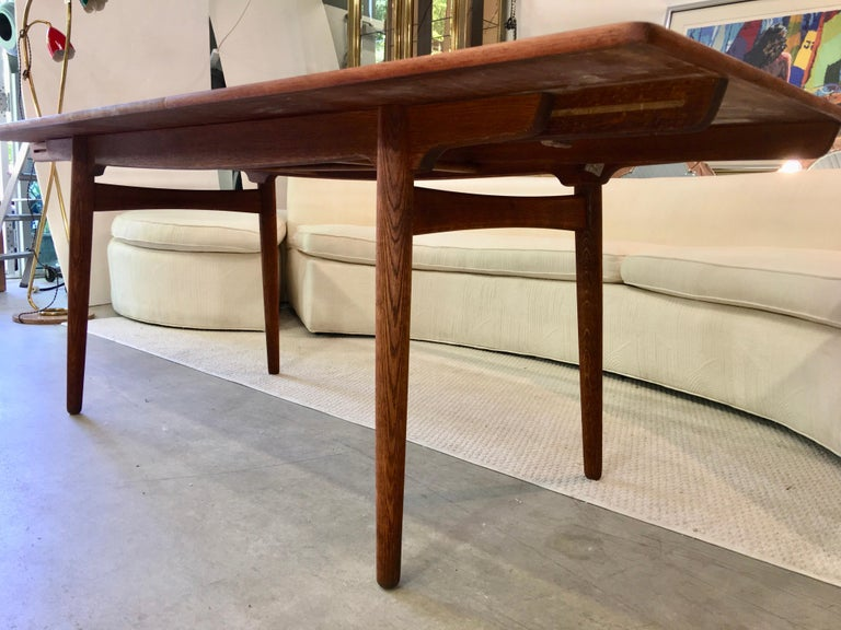 Hans Wegner AT-310 Dining Table for Andreas Tuck For Sale 7