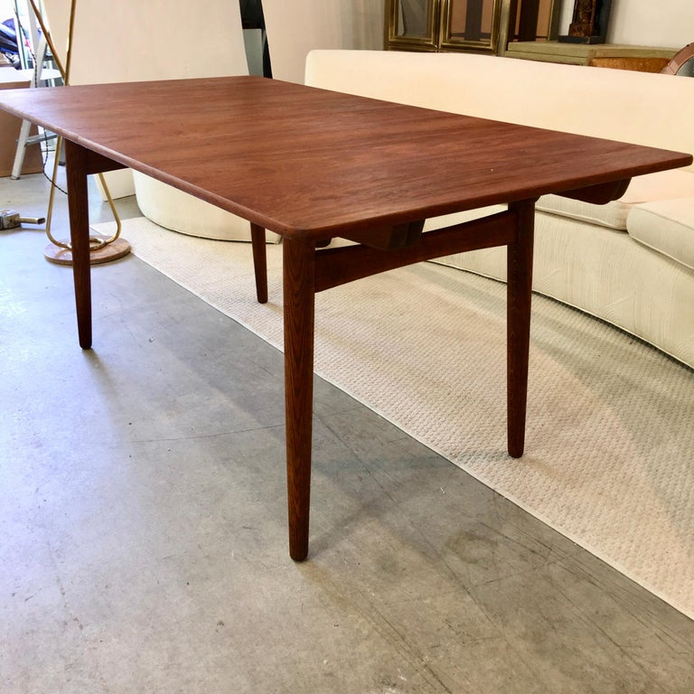 Danish Hans Wegner AT-310 Dining Table for Andreas Tuck For Sale