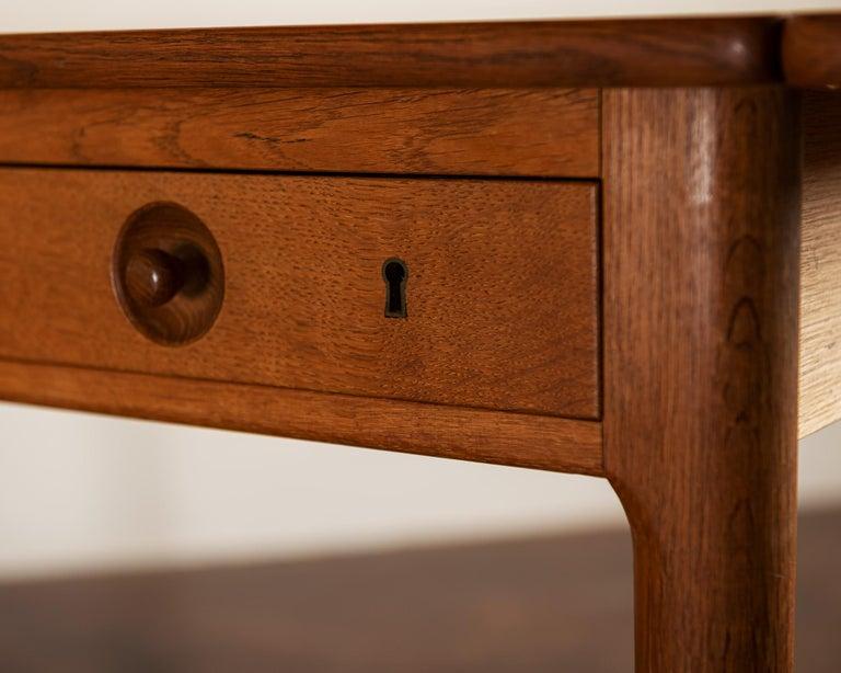 Hans Wegner AT305 Desk for Andreas Tuck, Denmark, 1950s For Sale 5