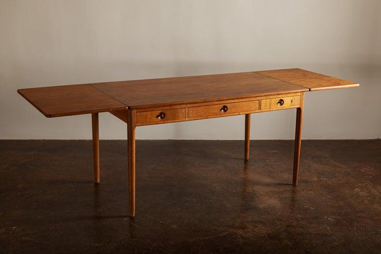 Mid-Century Modern Hans Wegner AT305 Desk for Andreas Tuck, Denmark, 1950s For Sale