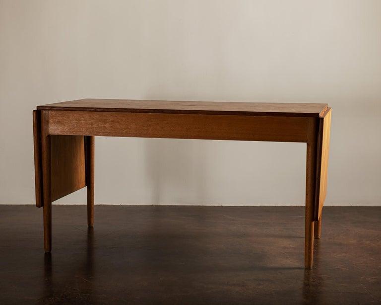 Mid-20th Century Hans Wegner AT305 Desk for Andreas Tuck, Denmark, 1950s For Sale