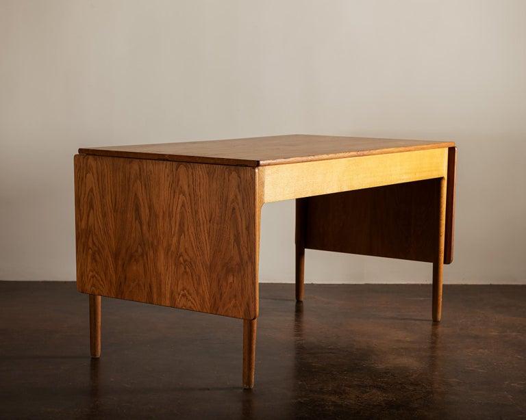 Oak Hans Wegner AT305 Desk for Andreas Tuck, Denmark, 1950s For Sale