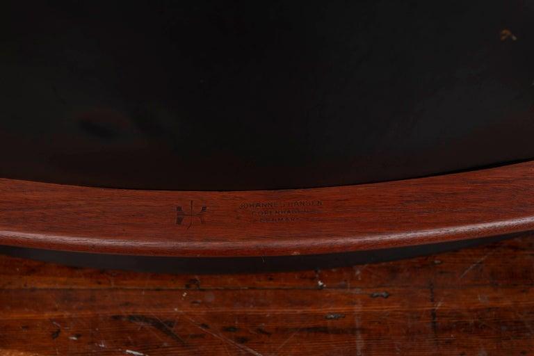 Hans Wegner Buck Lounge Chair for Johannes Hansen For Sale 1