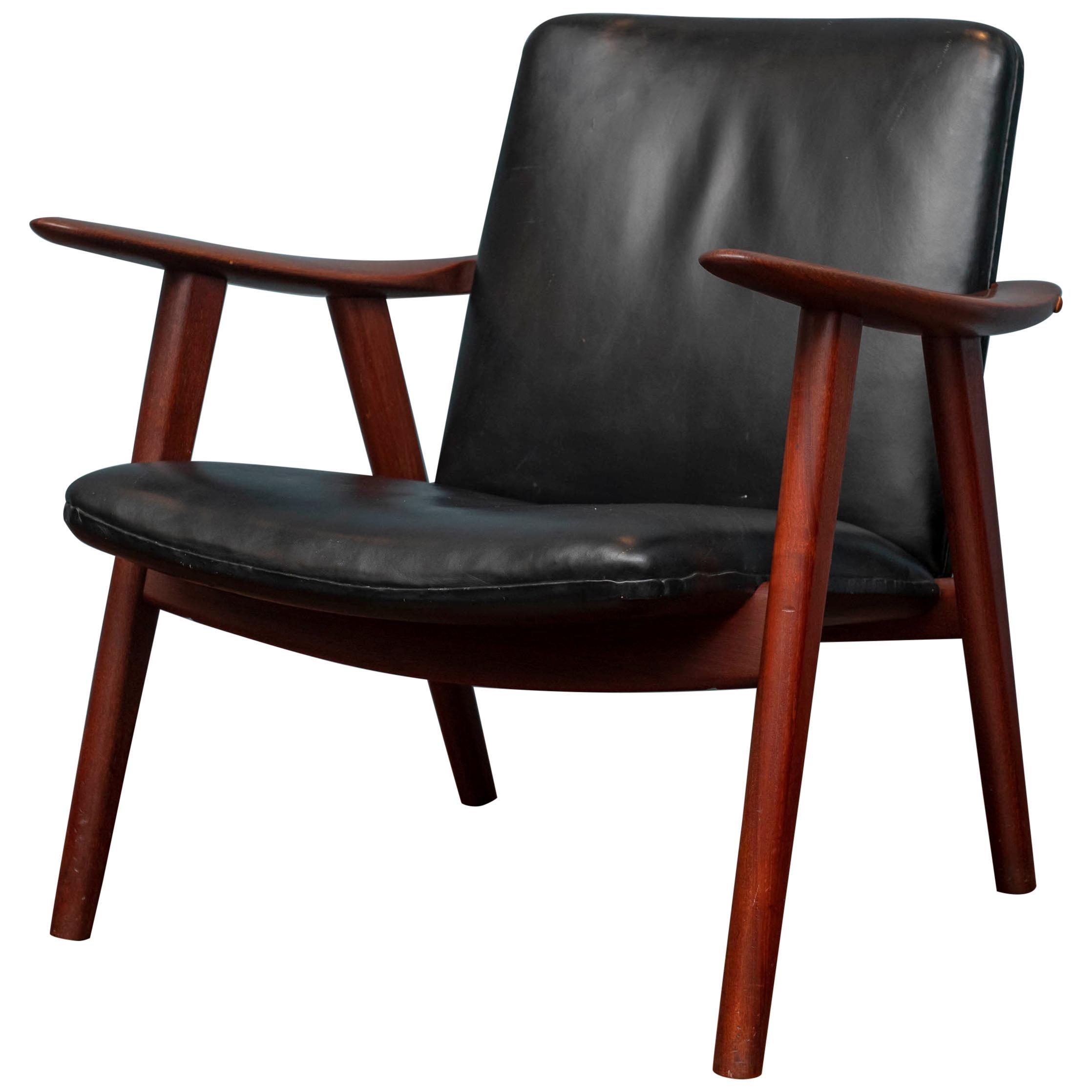 Hans Wegner Buck Lounge Chair, Model JH517
