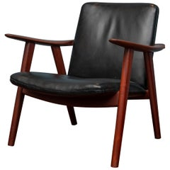 Hans Wegner Buck Lounge Chair, Model JH517