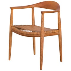 Hans Wegner Cane Dining Chair