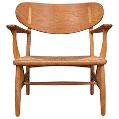 Hans Wegner Ch-22 Lounge Chair
