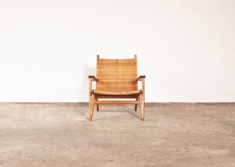 Hans Wegner CH-27 Chair, Carl Hansen & Son, Denmark, 1950s For Sale 3
