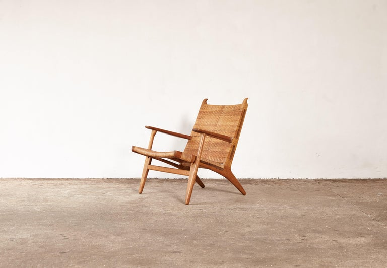 A CH-27 chair designed by Hans Wegner for Carl Hansen, Denmark, 1950s. Stamped with makers mark.
