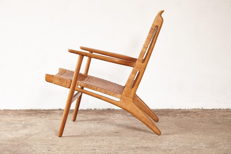 Danish Hans Wegner CH-27 Chair, Carl Hansen & Son, Denmark, 1950s For Sale