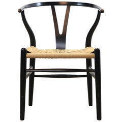 Hans Wegner CH24 Wishbone Chair by Carl Hansen and Son, 1950