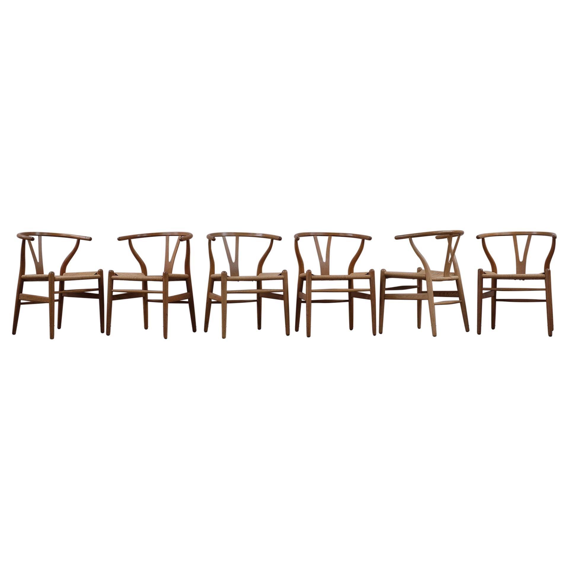 Hans Wegner CH24 Wishbone Chairs