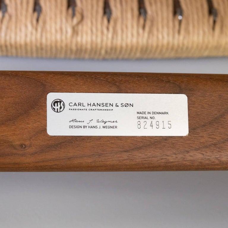 Hans Wegner CH25 Lounge Fauteul for Carl Hansen For Sale 2