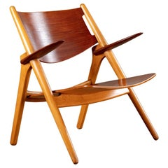 Hans Wegner CH28 Wood Armchair