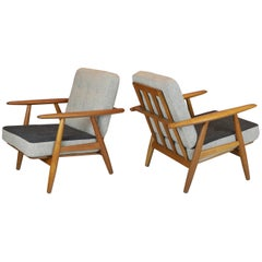 "Hans Wegner, ""Cigar"" Chairs, 1950s"