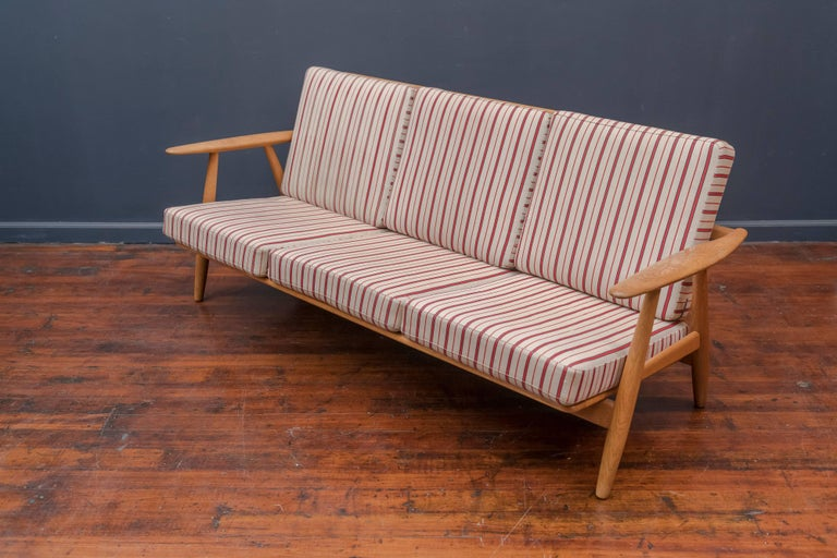 Danish Hans Wegner Cigar Sofa for GETAMA For Sale