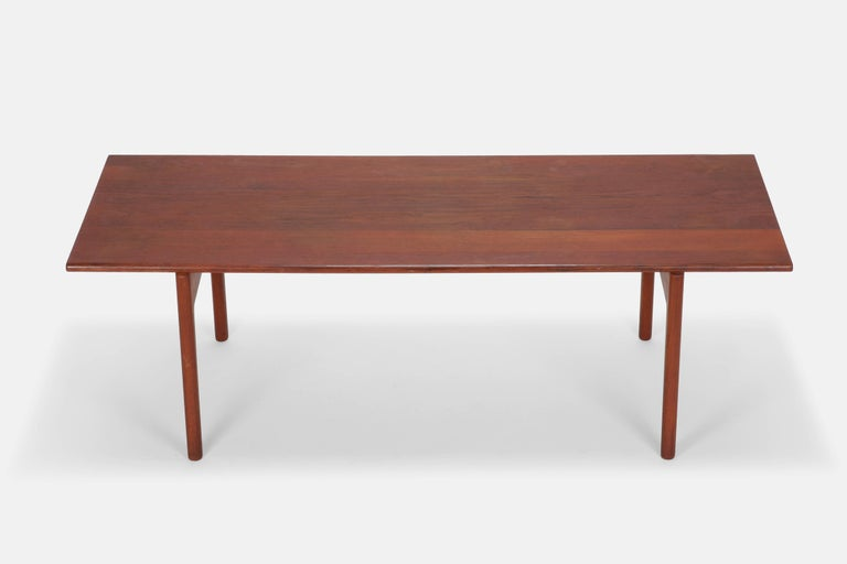 hans wegner coffee table model at 15 andreas tuck 1960s for
