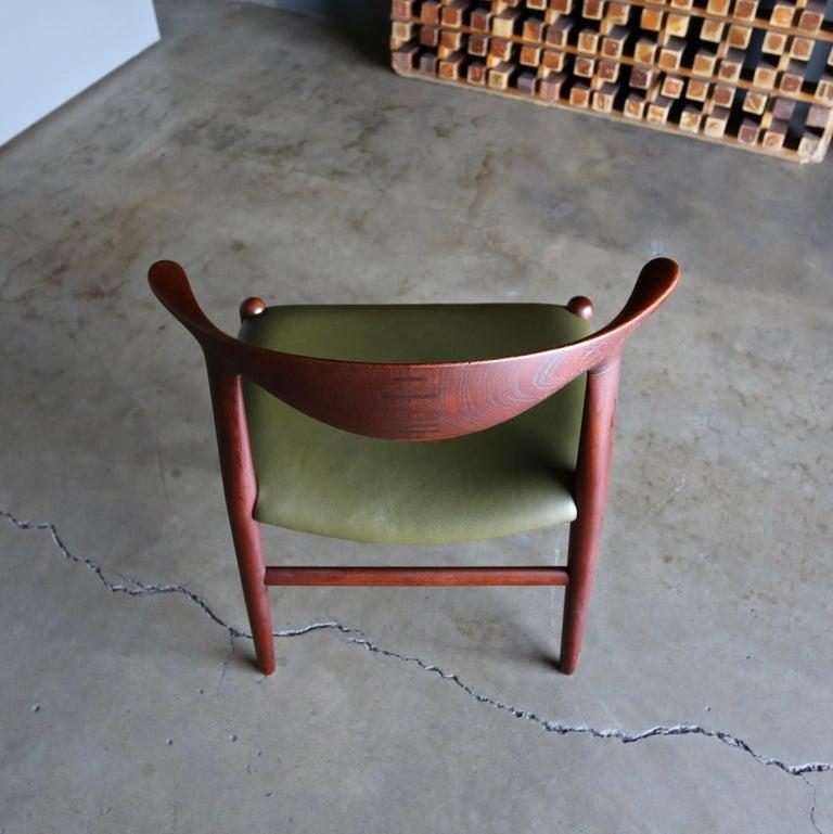 Hans Wegner Cow Horn Chair for Johannes Hansen, circa 1952 For Sale 5