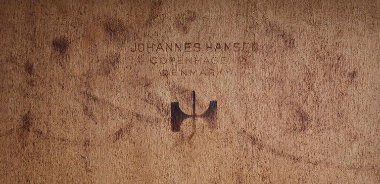 Hans Wegner Cow Horn Chair for Johannes Hansen, circa 1952 For Sale 6