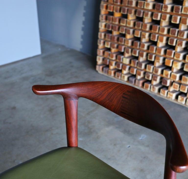 Hans Wegner Cow Horn Chair for Johannes Hansen, circa 1952 For Sale 1