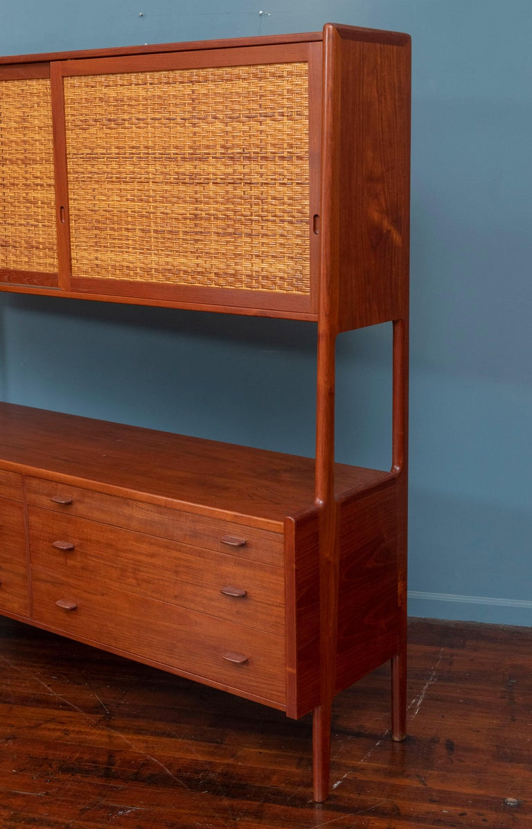 Mid-20th Century Hans Wegner Credenza or Hutch for RY Mobler For Sale