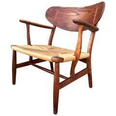 Hans Wegner Occasional Lounge Chair, 20th Century