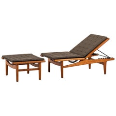 Hans Wegner Daybed Model GE-1 Produced by GETAMA in Denmark