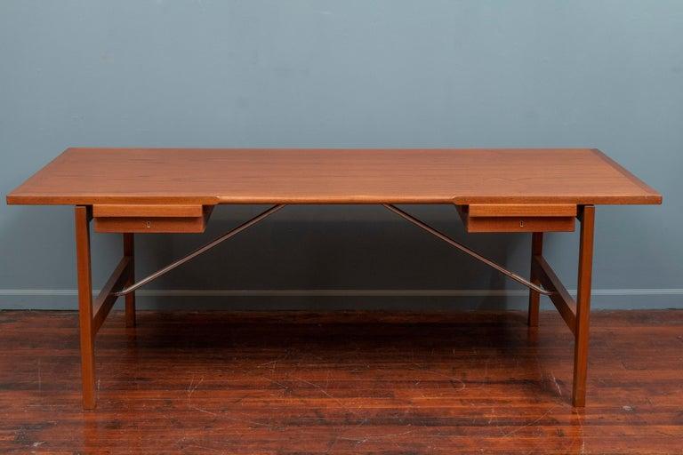 Scandinavian Modern Hans Wegner Desk Model AT325 for Andreas Tuck For Sale
