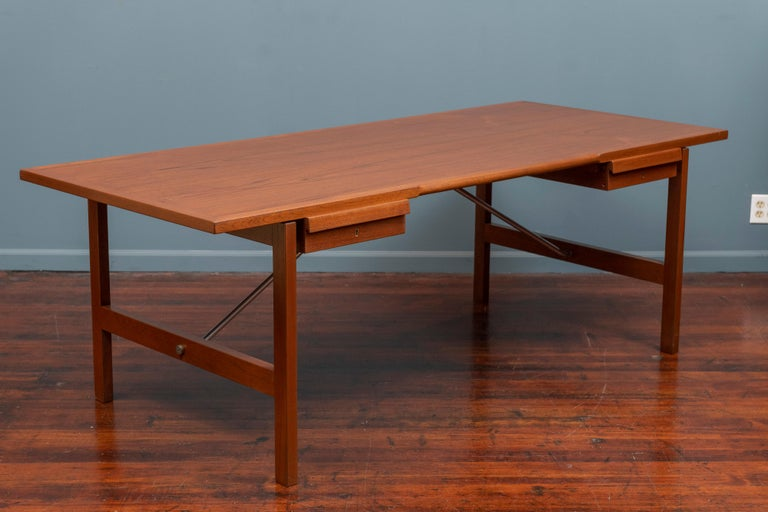 Mid-20th Century Hans Wegner Desk Model AT325 for Andreas Tuck For Sale