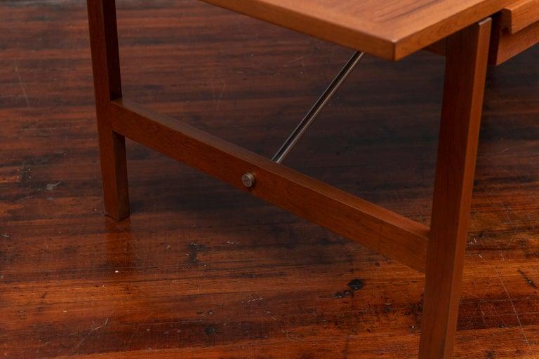 Steel Hans Wegner Desk Model AT325 for Andreas Tuck For Sale