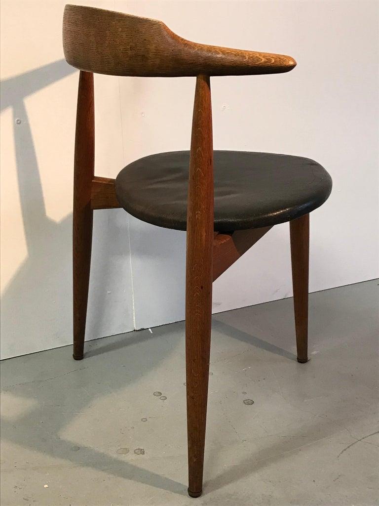 Danish Hans Wegner Dining Chair For Sale