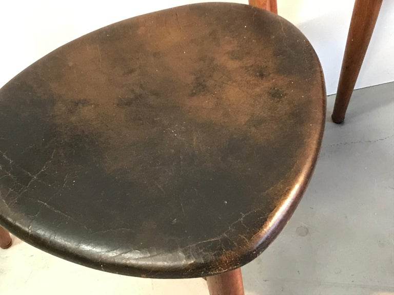 Hans Wegner Dining Chair In Good Condition For Sale In Heesch, NL
