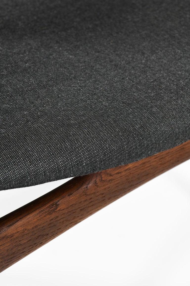 Hans Wegner Dining Chairs by Cabinetmaker Johannes Hansen in Denmark For Sale 1