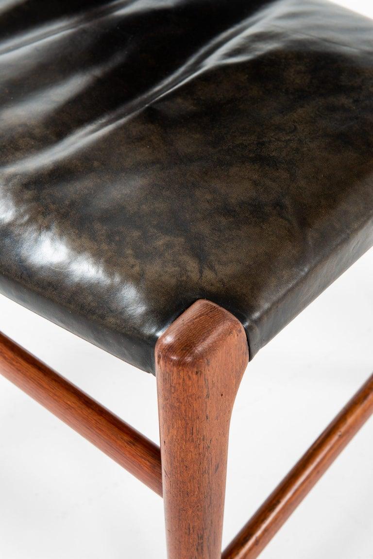 Hans Wegner Dining Chairs Variant of Model JH507 by Cabinetmaker Johannes Hansen For Sale 3