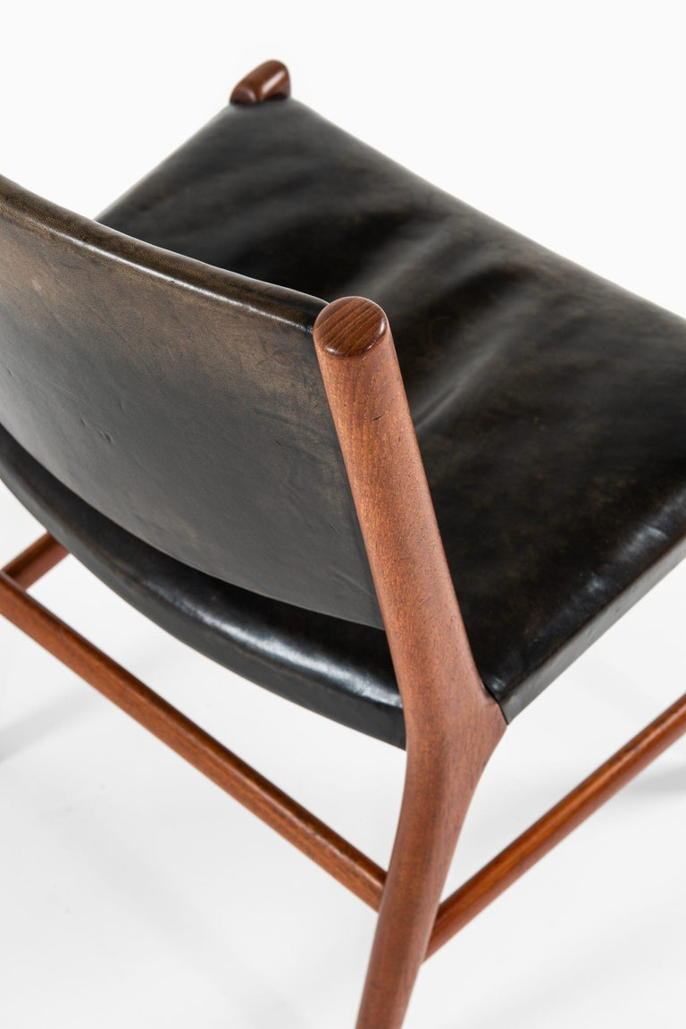 Hans Wegner Dining Chairs Variant of Model JH507 by Cabinetmaker Johannes Hansen In Good Condition For Sale In Malmo, SE