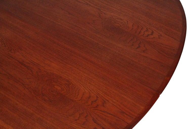 Hans Wegner Dining Table for Johannes Hansen Model JH-567 For Sale 7