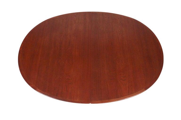 Mid-20th Century Hans Wegner Dining Table for Johannes Hansen Model JH-567 For Sale