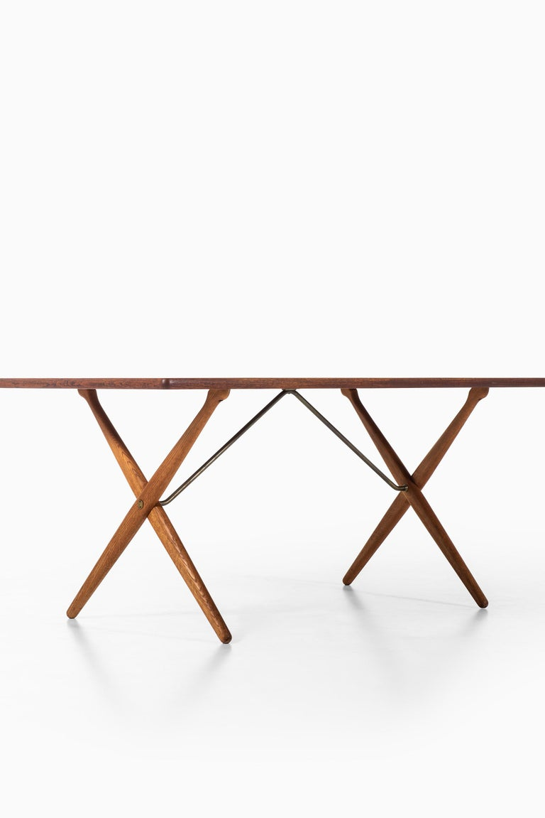 Danish Hans Wegner Dining Table Model AT-303 Produced by Andreas Tuck in Denmark For Sale