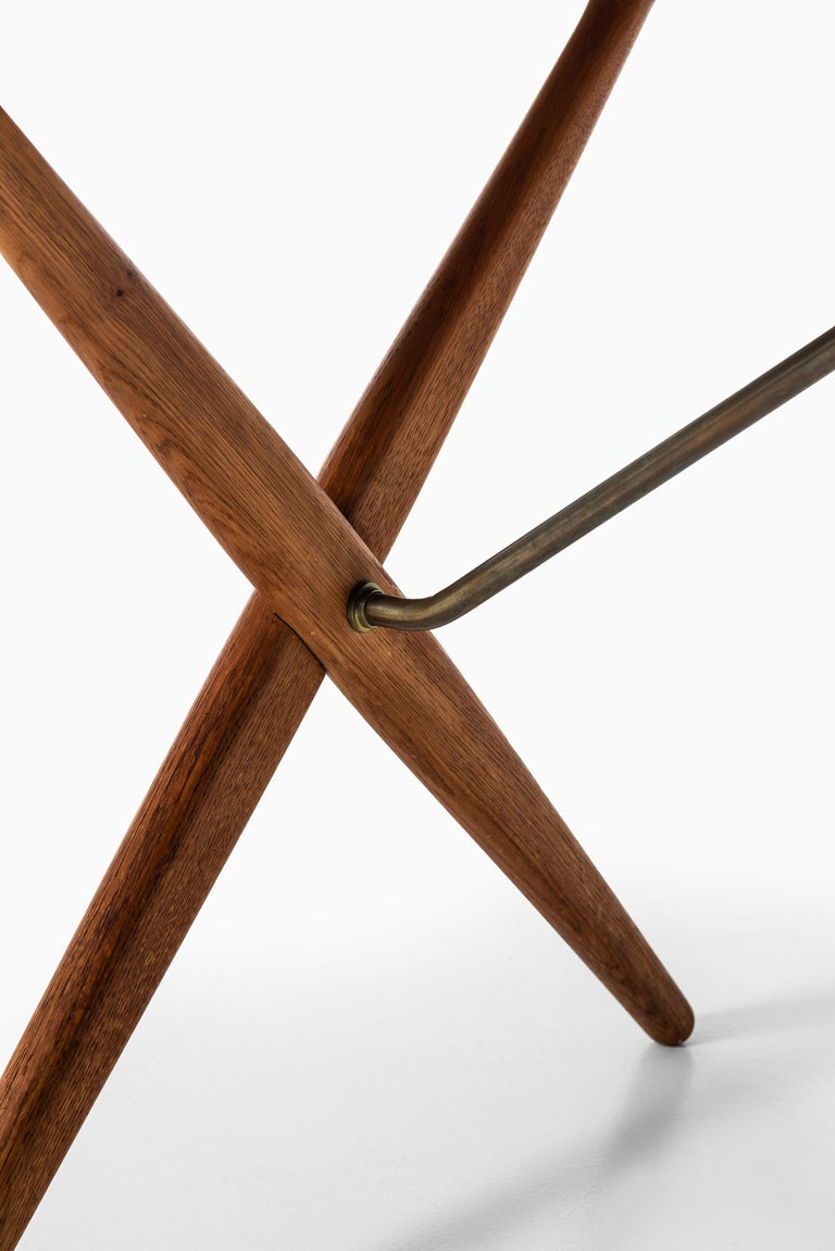 Hans Wegner Dining Table Model AT-303 Produced by Andreas Tuck in Denmark For Sale 1