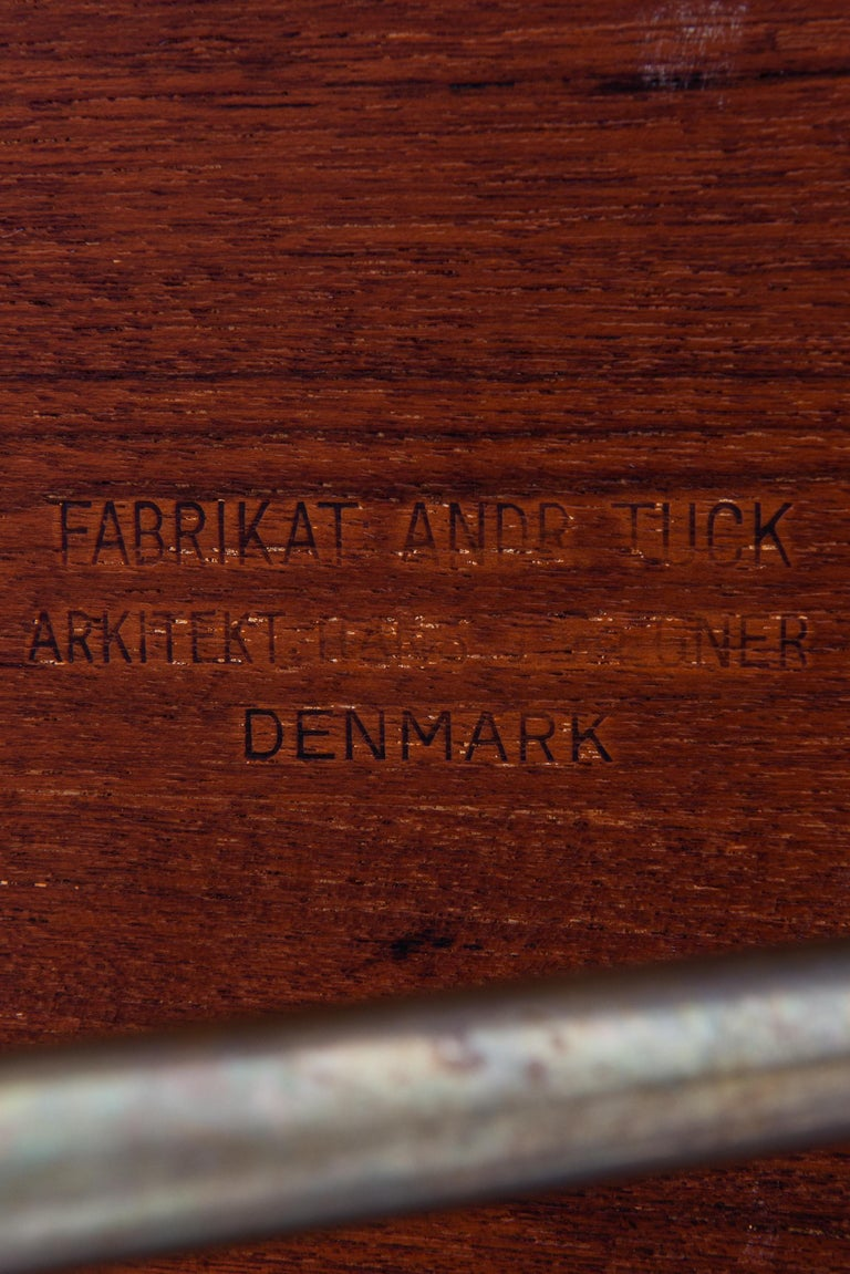 Hans Wegner Dining Table Model AT-303 Produced by Andreas Tuck in Denmark For Sale 2