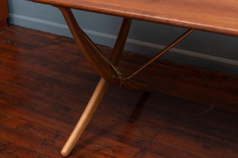 Danish Hans Wegner Dining Table, Model AT 304 For Sale