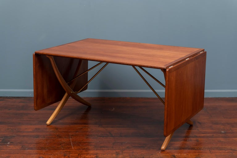Hans Wegner Dining Table, Model AT 304 In Good Condition For Sale In San Francisco, CA