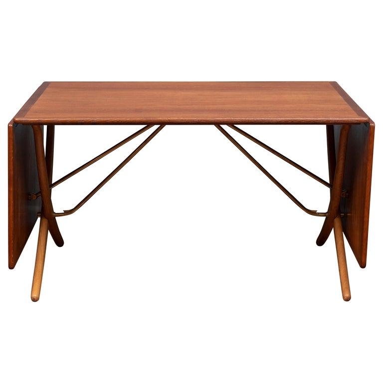 Hans Wegner Dining Table, Model AT 304 For Sale