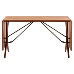 Hans Wegner Dining Table Model AT-304 Produced by Andreas Tuck in Denmark