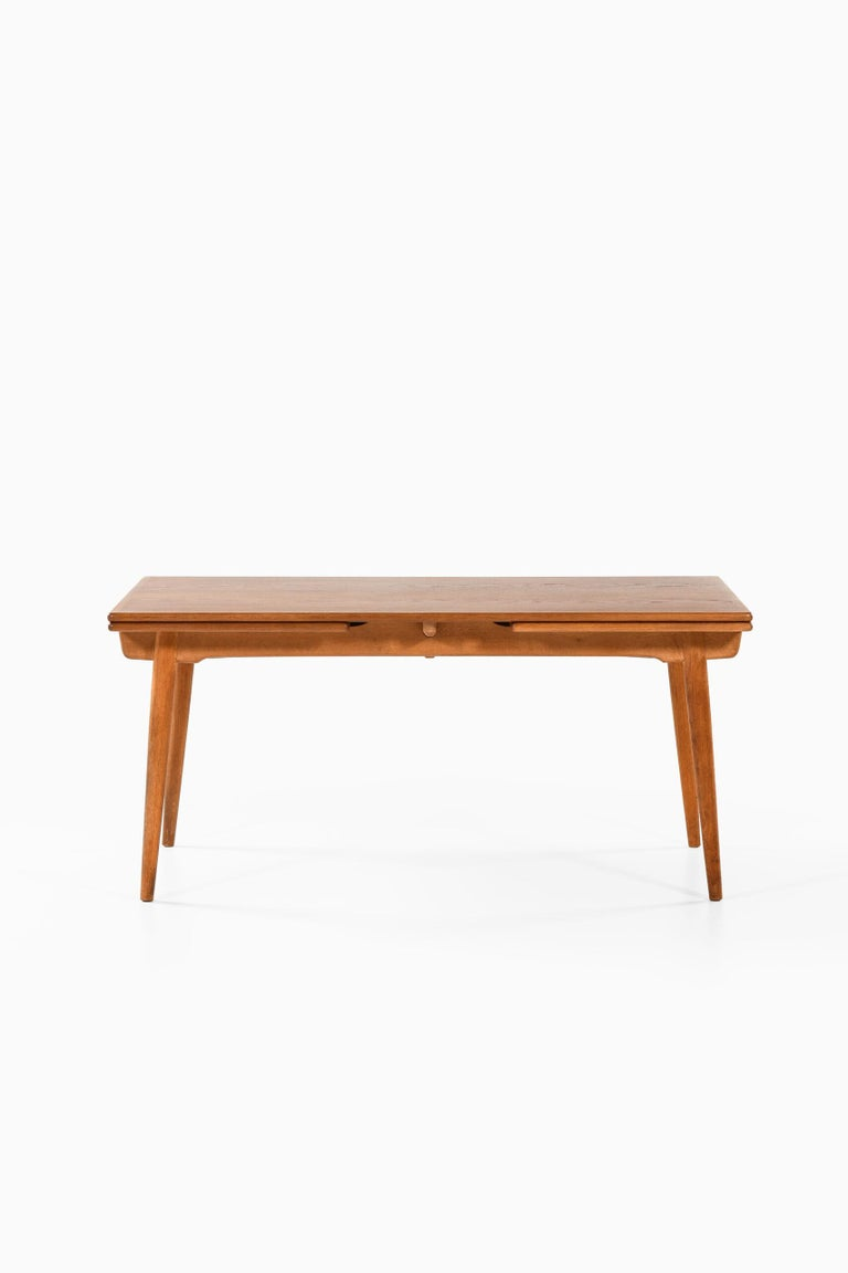 Hans Wegner Dining Table Model AT-312 Produced by Andreas Tuck in Denmark For Sale 3