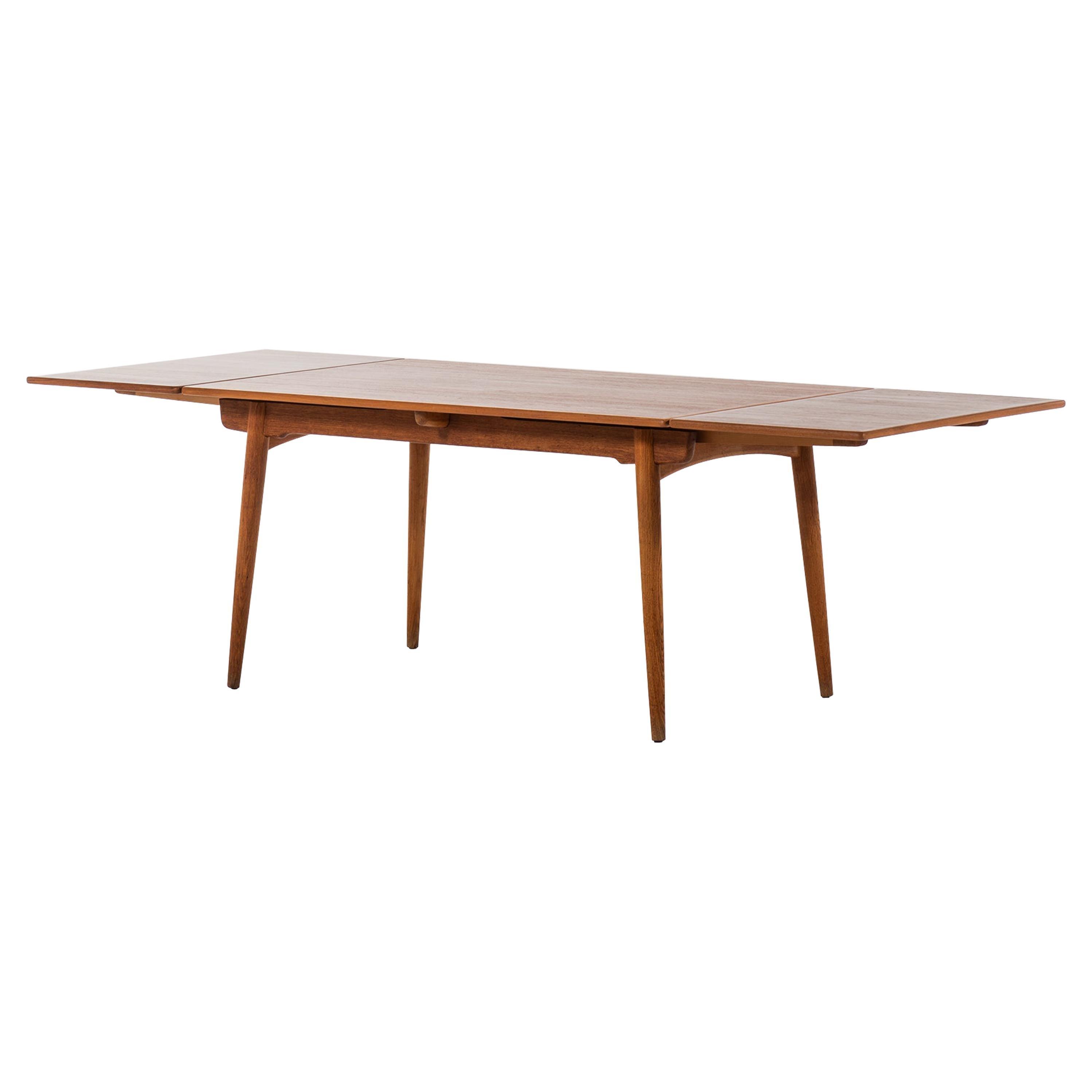 Hans Wegner Dining Table Model AT-312 Produced by Andreas Tuck in Denmark