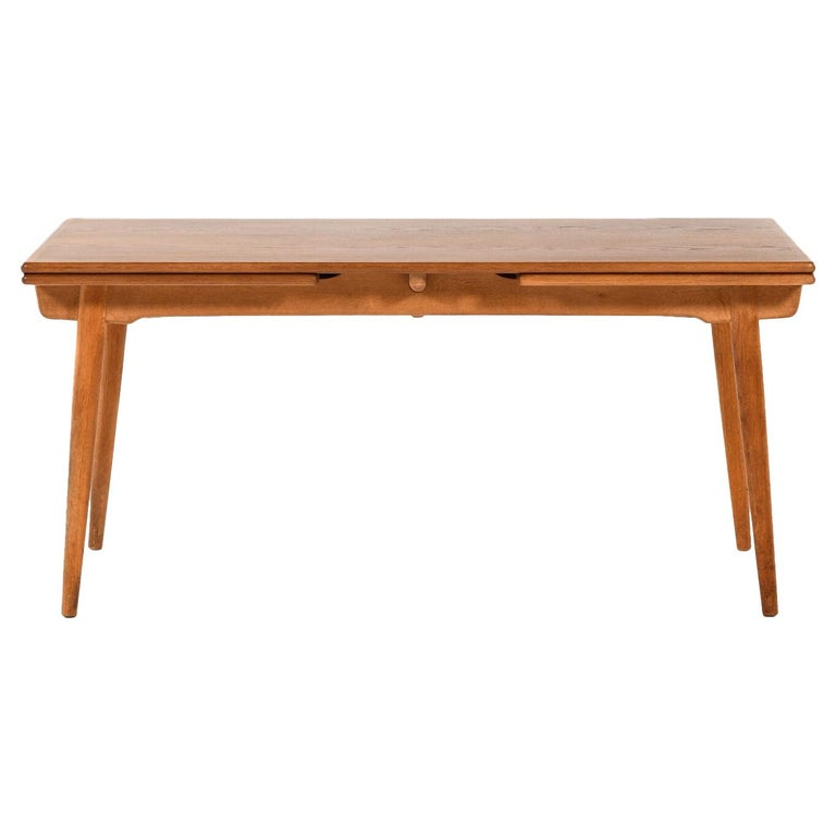 Hans Wegner Dining Table Model AT-312 Produced by Andreas Tuck in Denmark For Sale