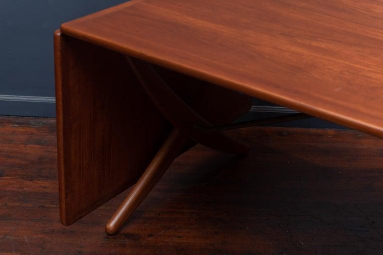 Hans Wegner Dining Table Model AT-314 For Sale 4