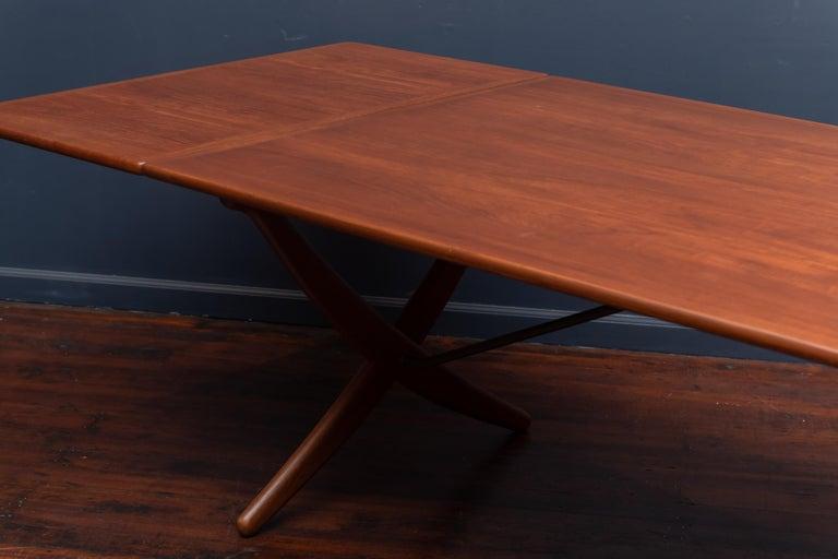Hans Wegner Dining Table Model AT-314 For Sale 1